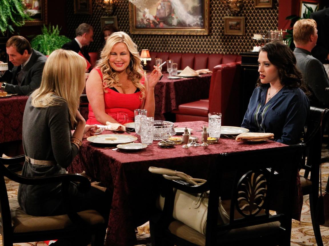 2 Broke Girls - Season 1 Episode 14: And the Upstairs Neighbor