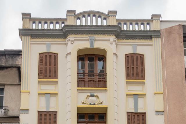 Edifício na Rua XV de Novembro - detalhe
