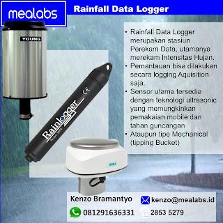 Data Logger Pemantau Perekam Curah Hujan