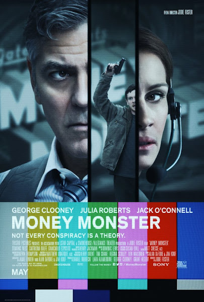 Poster Of Money Monster 2016 720p English BRRip Full Movie Download