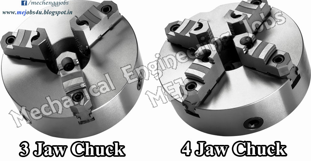 3 Jaw Chuck And 4 Jaw Chuck