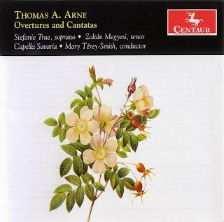 Thomas Arne (1710-1778) - Overtures & Cantatas
