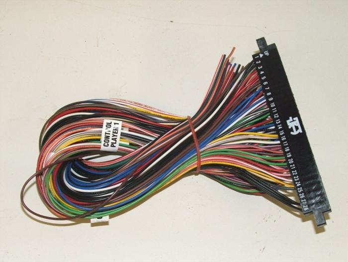Jamma S Wiring Layout Jamma Connector