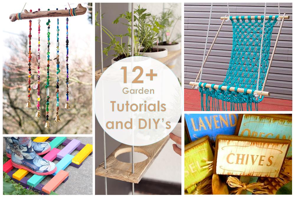 DIY tutorial мастер-класс своими руками идеи для дачи, декор сада, Garden ideas
