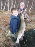 Shanes first pike and p.b