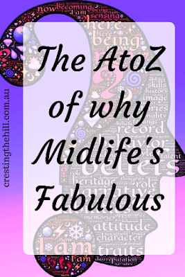 "The A to Z Challenge kicks off again in April 2017 - my theme is ""Why Midlife's Fabulous"""