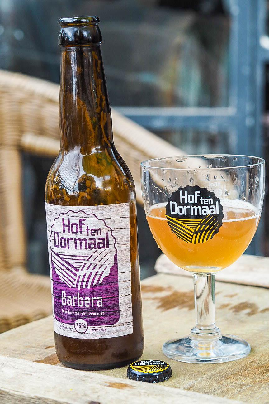 Hof Ten Dormaal Brewery's barbera beer