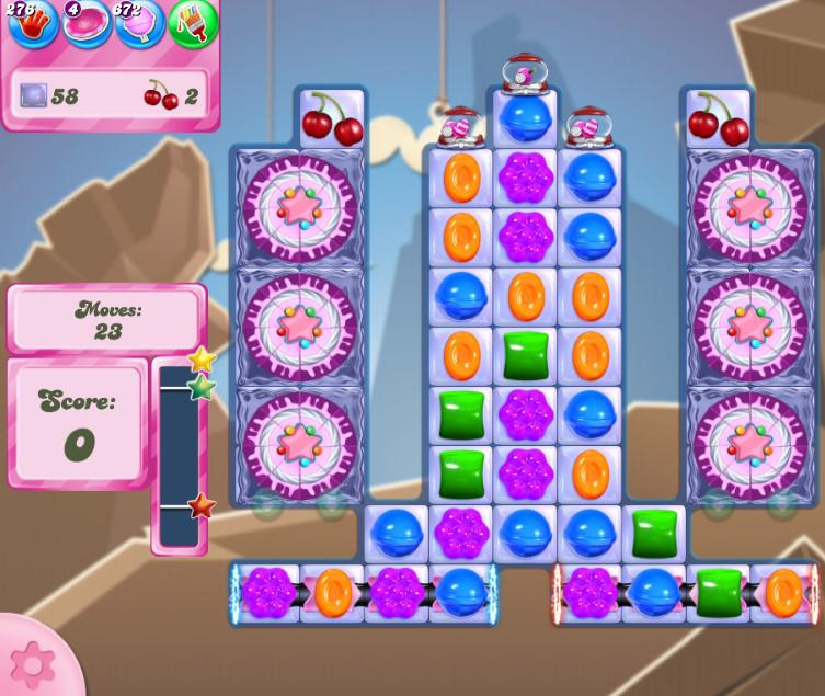 Candy Crush Saga level 2717
