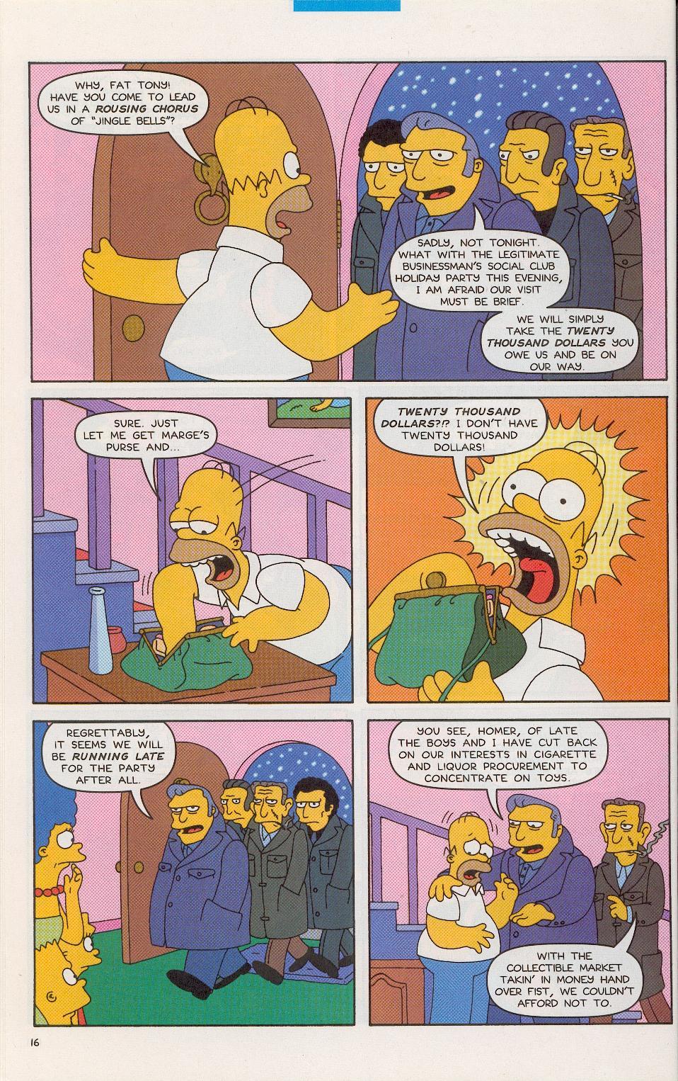 Read online Simpsons Comics comic -  Issue #52 - 17