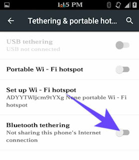 Bluetooth se internet share kaise kare 2