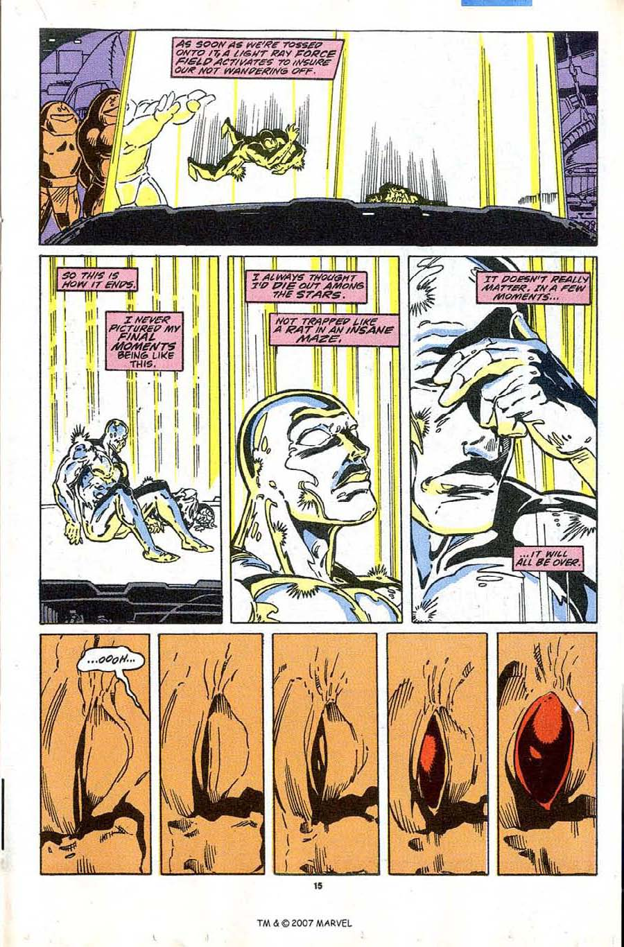 Read online Silver Surfer (1987) comic -  Issue #43 - 17