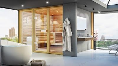 Những loại phòng xông hơi trong thiết kế spa