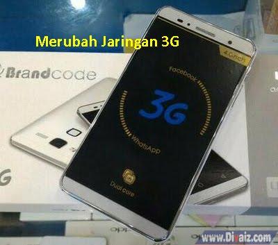 Merubah Jaringan Edge Ke 3G - www.divaizz.com