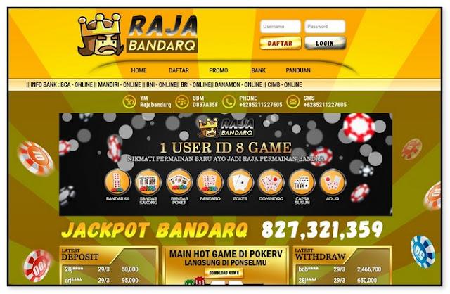 rajabandarq, domino99, dominoqq, dmonio online