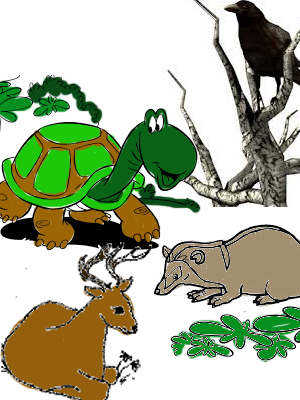 Persahabatan Empat Ekor Binatang Dongeng Anak