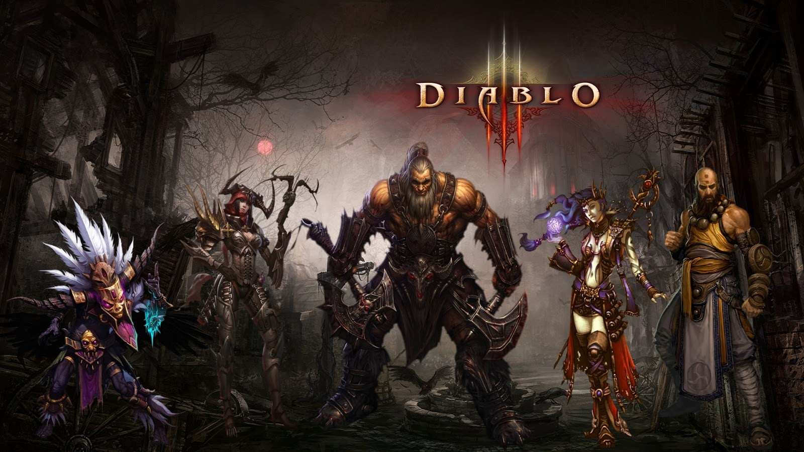 Home Design Games Download Diablo 3 Character Mystery Wallpaper