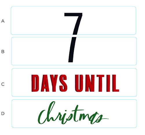 Days Until Christmas Printable.It S A Heidi Holiday Lightbox Insert Printables