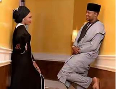 Image result for First pre-wedding photo of Zahra Buhari and Ahmed Indimi surfaces online