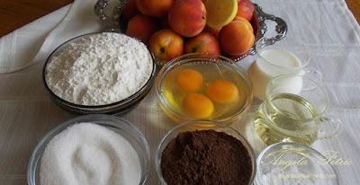 Preparare prajitura turnata-etapa 1