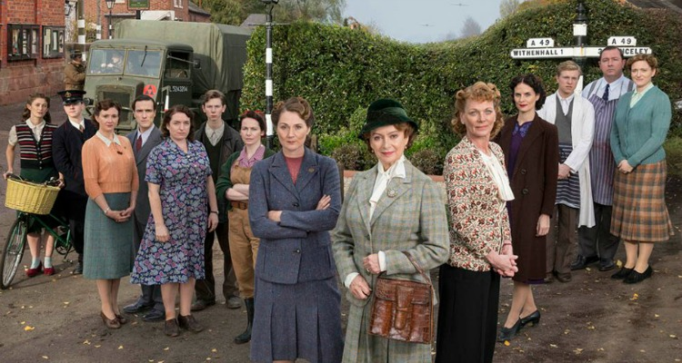 A Vintage Nerd Must See TV Period TV Show Recommendations Home Fires 1940s Women in WWII