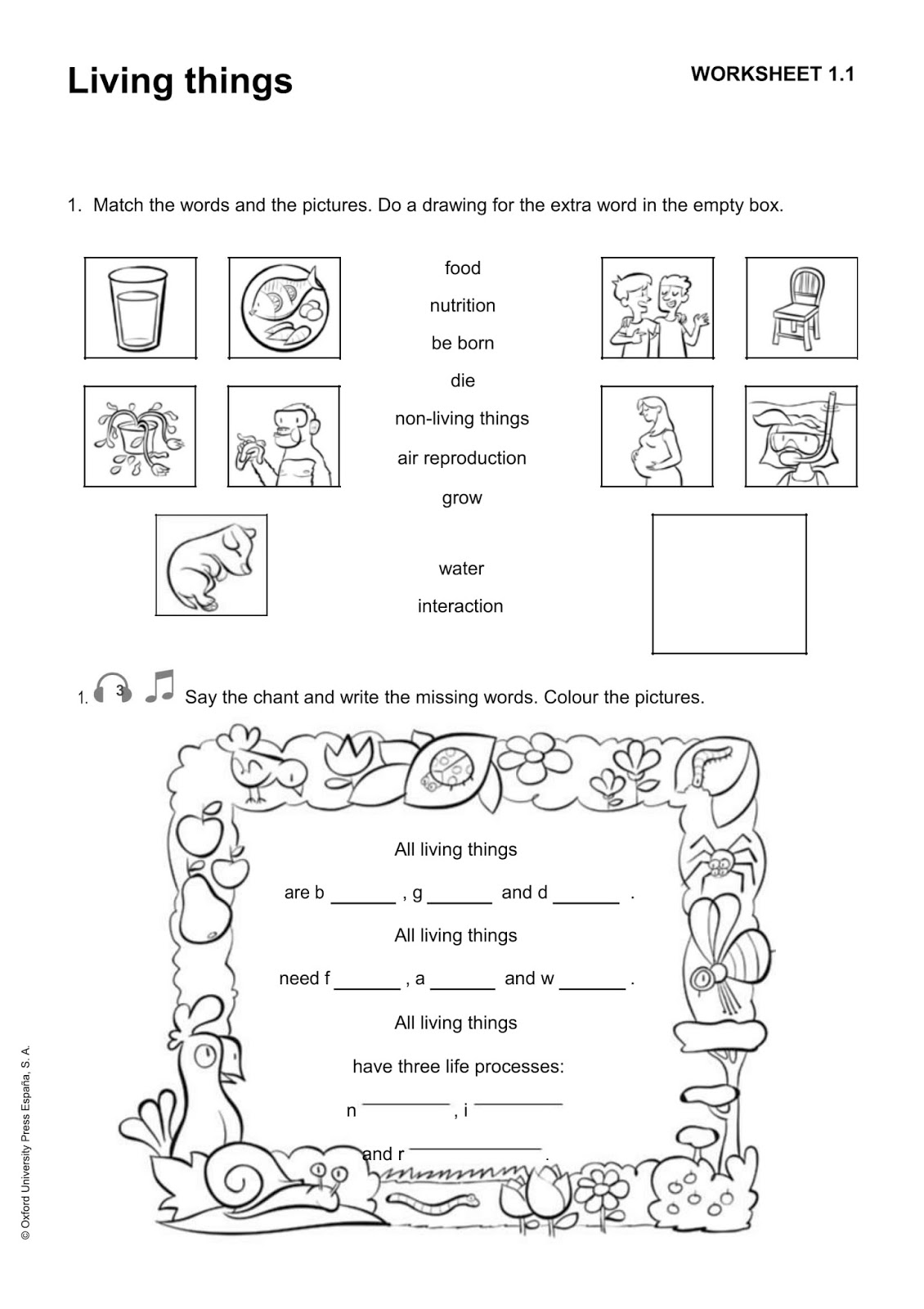 Science Worksheet For Preschool Healthy Habits