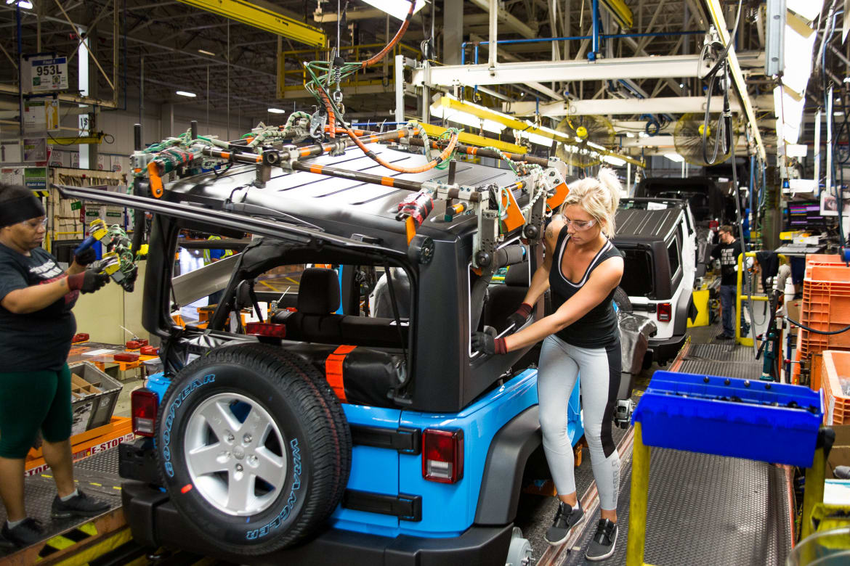 jeep momma blog jeep wrangler assembly plant tour. Black Bedroom Furniture Sets. Home Design Ideas