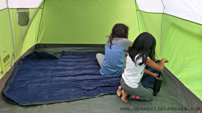 Nuestra primera experiencia acampando en el Glacier Park y Yellowstone by www.unamexicanaenusa.com