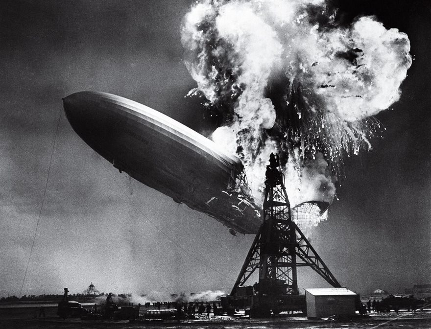 The Hindenburg Disaster, Sam Shere, 1937