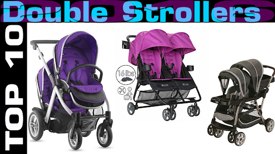 Top 10 Review Products-Top 10 Double Strollers 2016