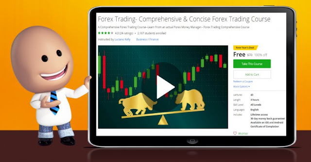 [100% Off] Forex Trading- Comprehensive & Concise Forex Trading Course| Worth 70$