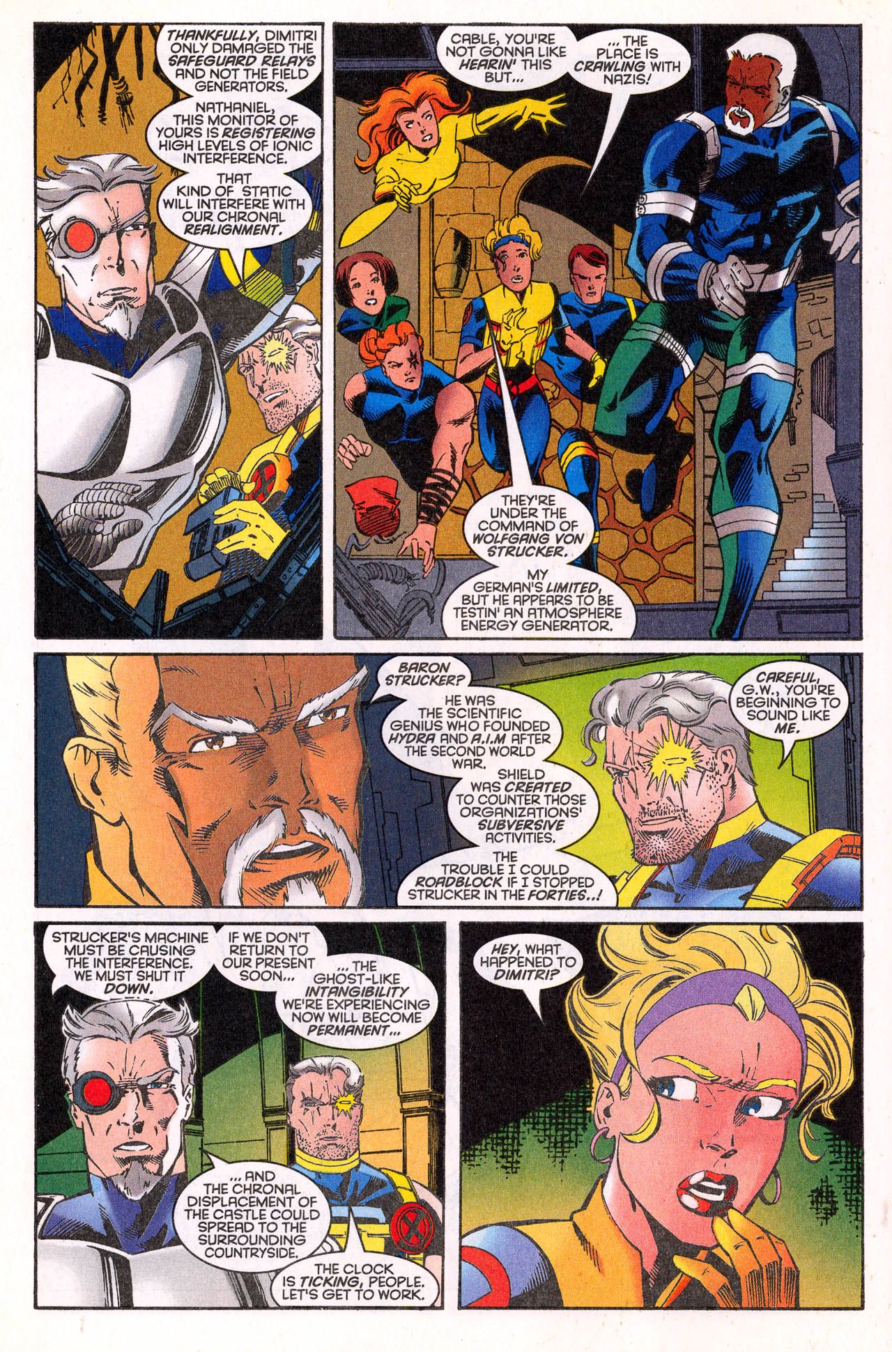 Read online X-Force (1991) comic -  Issue #64 - 16