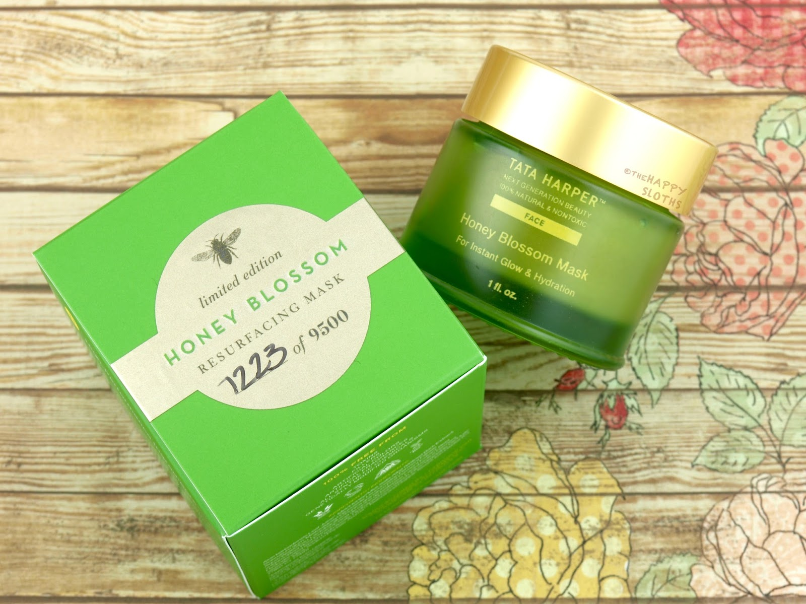 Tata Harper Limited Edition Honey Blossom Mask: Review