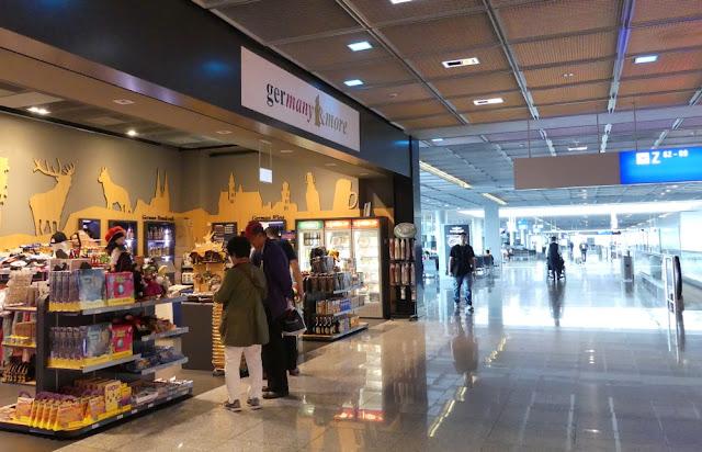 Flughafen Frankfurt - Flugsteig Z