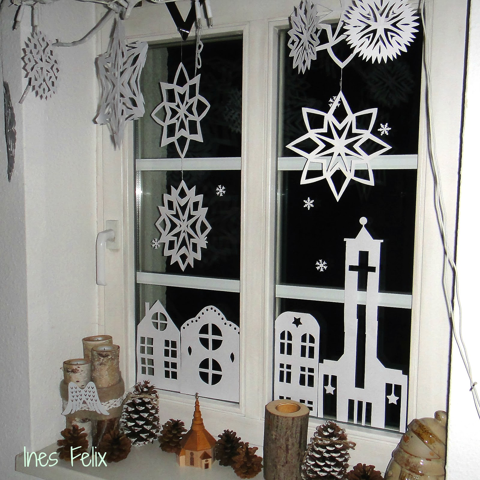 gallerphot fensterdeko weihnachten selber basteln. Black Bedroom Furniture Sets. Home Design Ideas