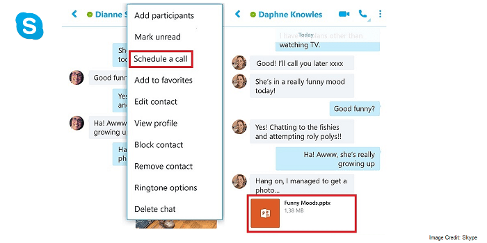 how to start group call on skype android