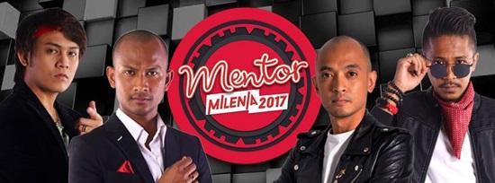 senarai peserta Mentor Milenia 2017 musim 2, nama peserta Mentor Milenia 2017 musim kedua, gambar peserta Mentor Milenia 2017 tv3, nama protege black, akim, tomok, hazama