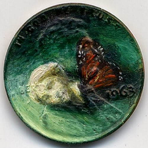 12-Venus-Dreams-1963-Artist-Jacqueline-L-Skaggs-Discarded-Pennies-Oil-Painting-on-Coins-www-designstack-co