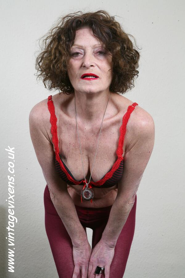 archive of old women: Hot Skinny Granny