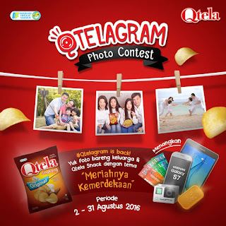 Qtela Qtelagram Photo Contest 2016 Lomba Foto Selfie (DL Agustus 2016)