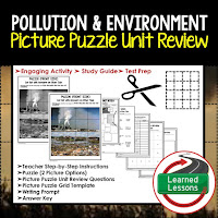 EARTH SCIENCE Test Prep, EARTH SCIENCE Test Review, EARTH SCIENCE Study Guide, Pollution and Environment
