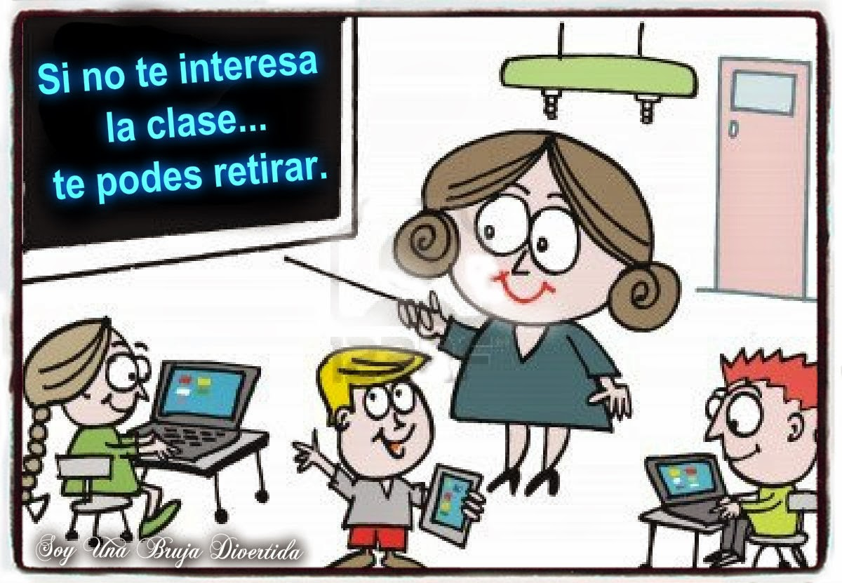 Brujitas Habilidosas En La Web Típicas Frases De Profesores