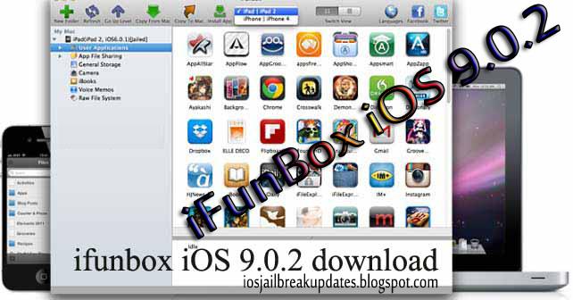 Jailbreak Updates: iOS 9 0 2 iFunBox Download aimed at iOS