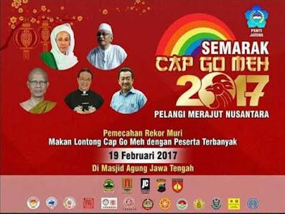 Forum Umat Islam Semarang (FUIS) Tolak Acara Cap Go Meh di Masjid