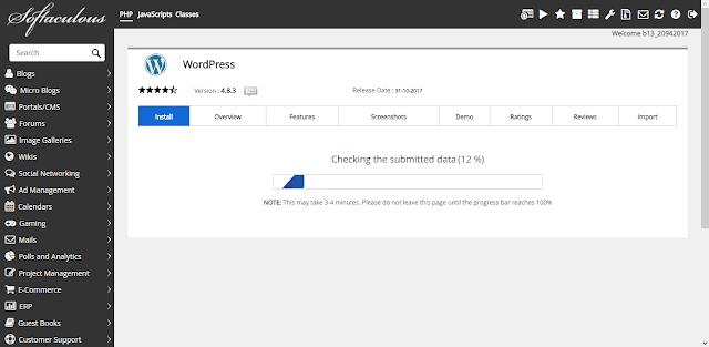 Langkah mudah Install Wordpress di ByetHost  Step by Step