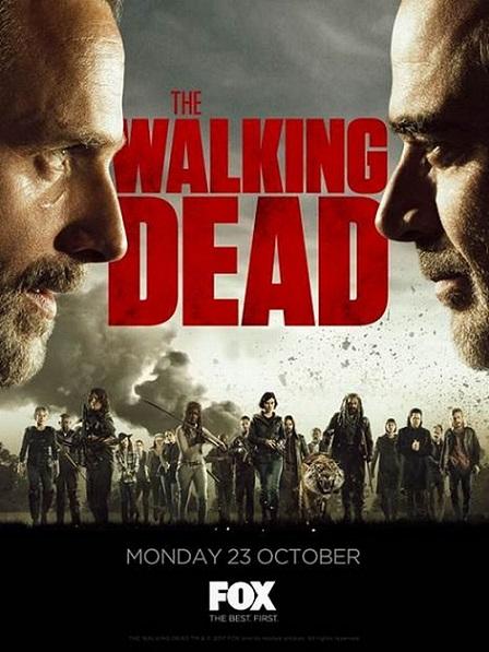 The Walking Dead Temporada 8 (2017) 720p y 1080p WEBRip mkv Dual Audio AC3 5.1 ch
