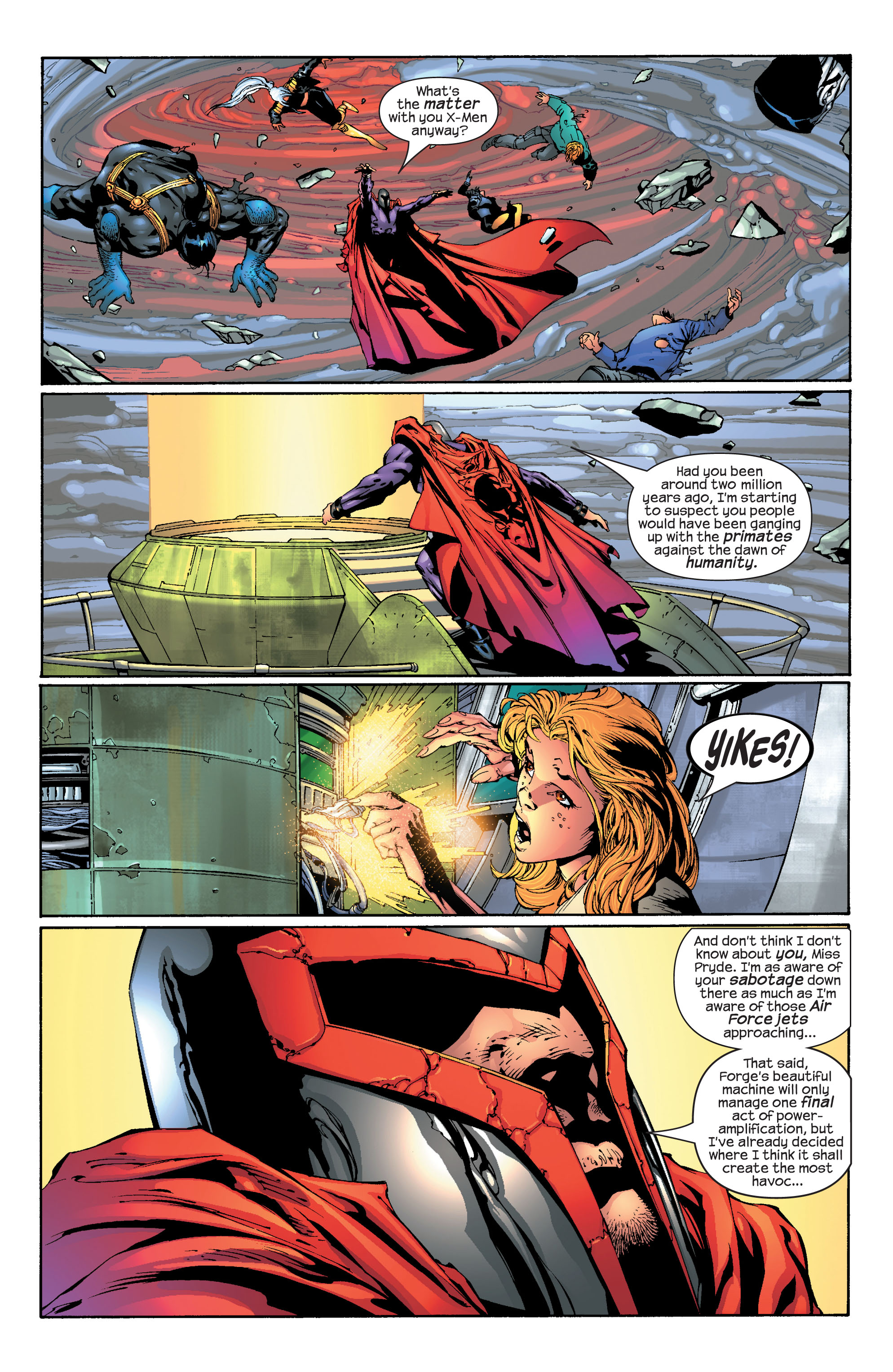 Read online Ultimate X-Men comic -  Issue #30 - 21