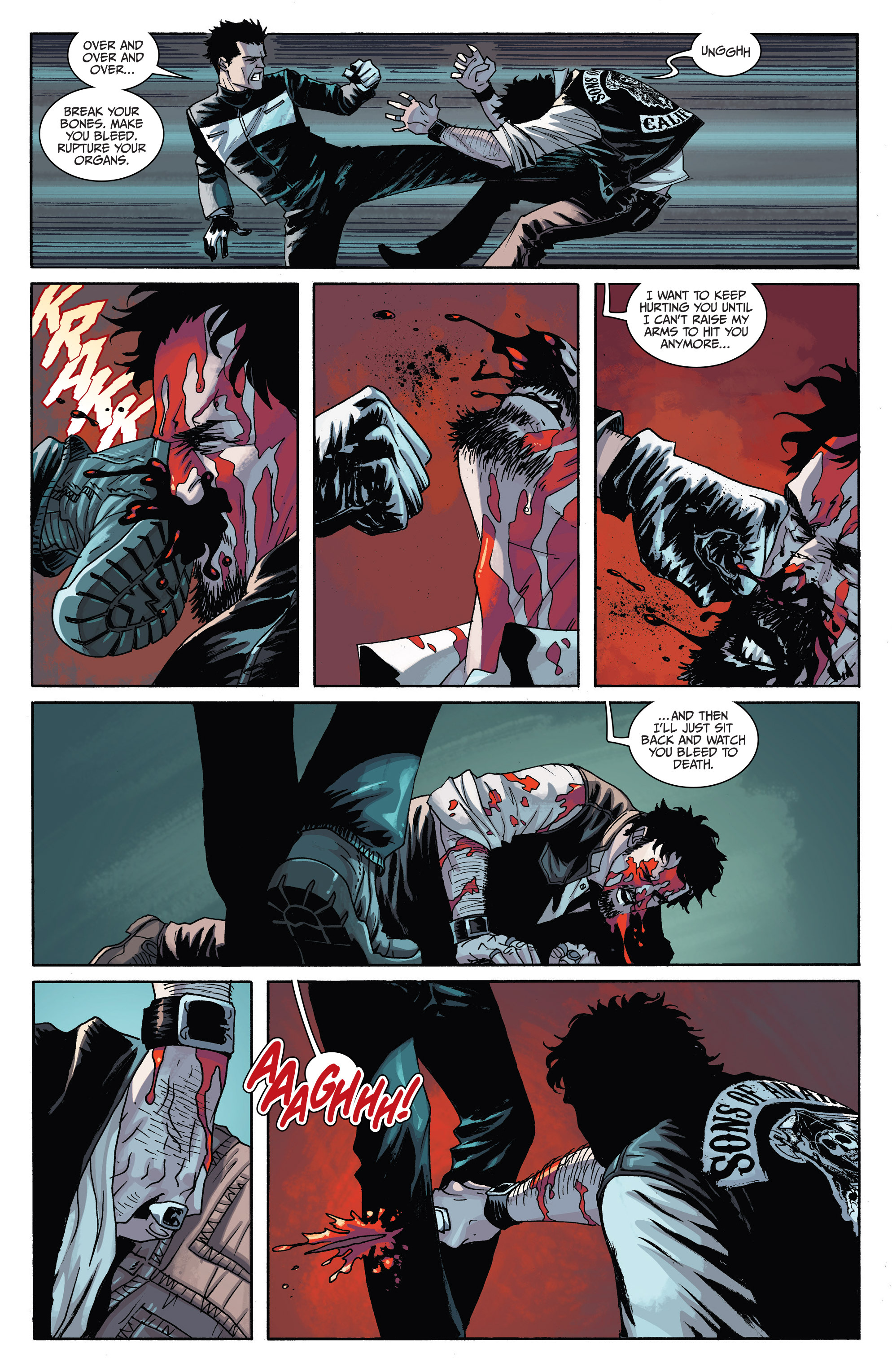 Read online Sons of Anarchy comic -  Issue #6 - 22