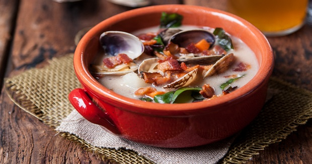 Coconut Beer Steamer Clam Chowder Recipe