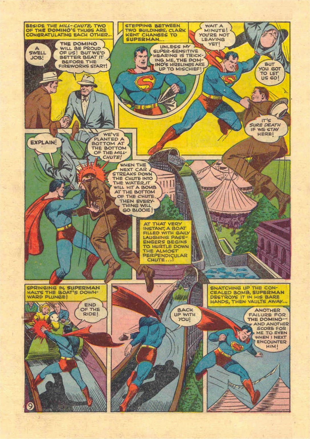 Read online Action Comics (1938) comic -  Issue #46 - 10