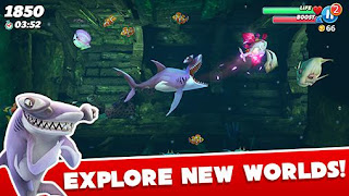 Hungry Shark World APK Obb Data - Free Download Android Game